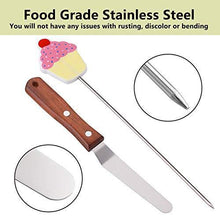 Load image into Gallery viewer, QXUJI 3PCS Cake Tester, Reusable Stainless Steel Cake Skewer, Cake Probe & Cake Testing Needle, with 4 Inch Icing Spatula, for Home Bakery, Pastry, Biscuit, Muffin - PHUNUZ