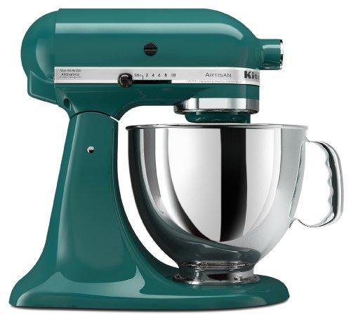 KitchenAid KSM150PSBL Artisan Series 5-Qt. Stand Mixer with Pouring Shield - Bay Leaf - PHUNUZ