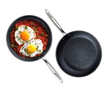 "Load image into Gallery viewer, Granite Stone Professional Frying Pan Set, Hard Anodized Ultra Nonstick 10"" & 11.5"" Pro Chef's Skillet Set, Durable Granite Surface Coated 3x and Infused with Minerals & Diamonds, Induction Capable"