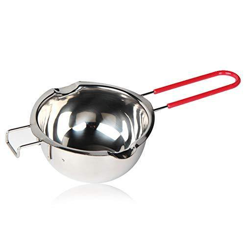 304 Stainless Steel Double Boiler,Candle Making Kit,Melting Pot for Butter Chocolate Candy Butter Cheese Caramel