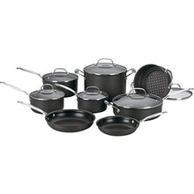 Load image into Gallery viewer, Cuisinart 14 Piece Chef's Classic Non-Stick Hard Anodized Cookware Set, Gray