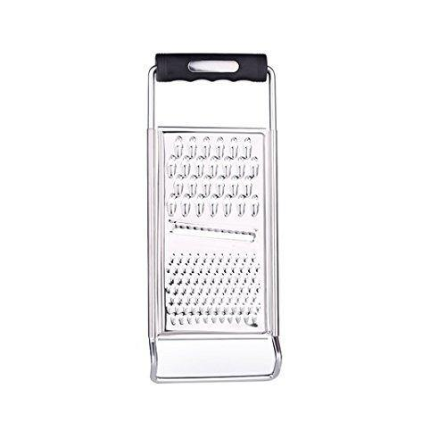 ZYluoke Kitchen Graters Cheese Grater,Ginger Grater & Lemon Zester Micro Blade Cover Stainless Steel Razor Sharp Teeth - High Performance - for Vegetables, Fruits, Cheese, Chocolate - PHUNUZ