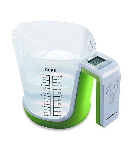Digital Kitchen Food Scale and Measuring Cup - PHUNUZ