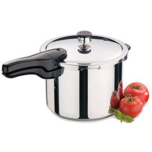 Load image into Gallery viewer, Presto 01362 6-Quart Stainless Steel Pressure Cooker
