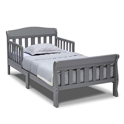 Delta Children Canton Toddler Bed, Grey - PHUNUZ