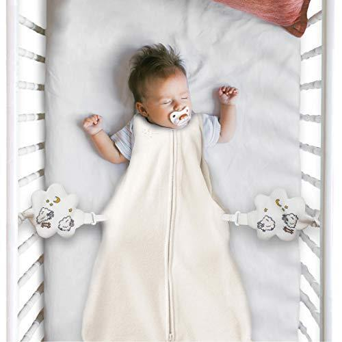 Nurturally Baby Anti Roll Support - Safe Breathable Fabric for Babies Age 3 to 6 Months Old, Designed in USA - PHUNUZ