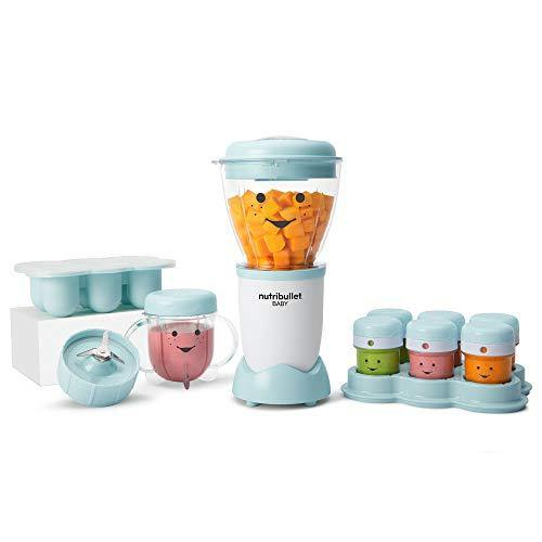 NutriBullet NBY-50100 Baby Complete Food-Making System, 32-Oz, Blue - PHUNUZ