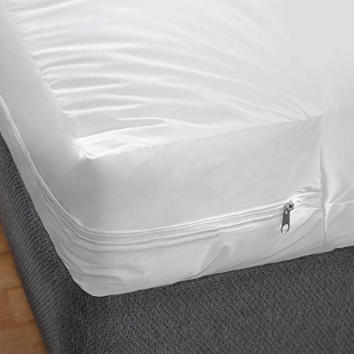 DMI Zippered Waterproof Mattress Protector and Cover, Twin