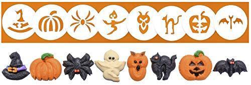 Halloween 8 Disk Set for Cookie Presses - PHUNUZ