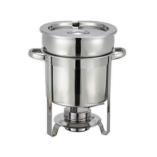 Winco Stainless Steel Soup Warmer, 7-Quart, Medium - PHUNUZ
