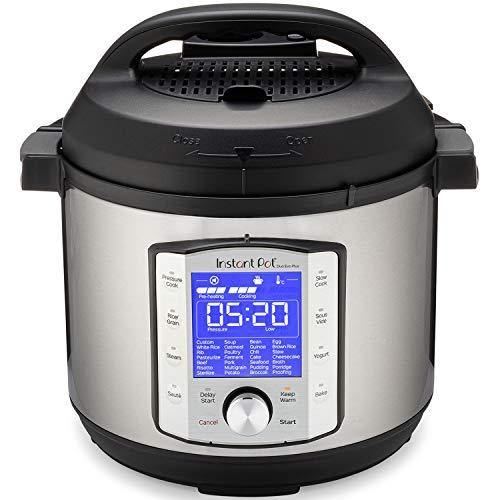 Instant Pot Duo Evo Plus Pressure Cooker 9 in 1,  6 Qt, 48 One Touch Programs - PHUNUZ