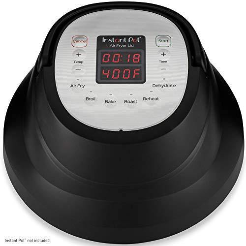 Instant Pot Air Fryer Lid 6 in 1, No Pressure Cooking Functionality, 6 Qt, 1500 W - PHUNUZ