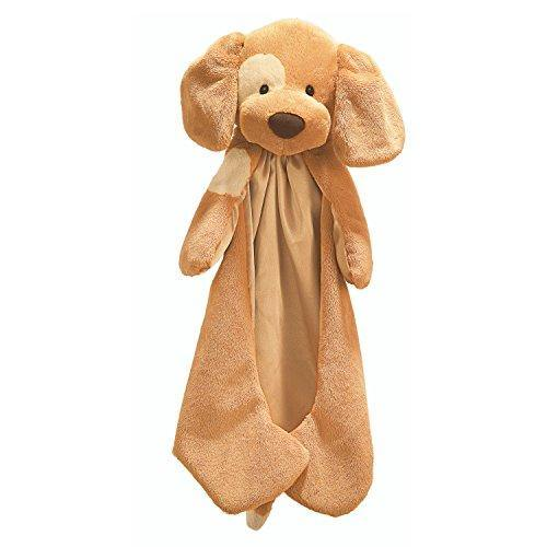 Baby GUND Spunky Huggybuddy Stuffed Animal Plush Blanket, Beige, 15