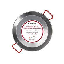 Load image into Gallery viewer, Machika Polished Steel Paella Pan 15 inch (38 cm)