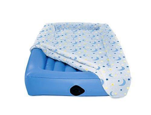 AeroBed Air Mattress for Kids,Blue,Twin - PHUNUZ