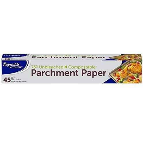 Reynolds Kitchens Unbleached Parchment Paper Roll, 45 Square Feet - PHUNUZ