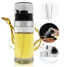 Load image into Gallery viewer, Olive Oil Sprayer, 150mlOil Dispenser, Spray Mister Olive Oil Bottle for Cooking, Vinegar, Refillable Oil Bottle Perfect for Baking, BBQ Roasting, Grilling, Salad, with 2 Brushes