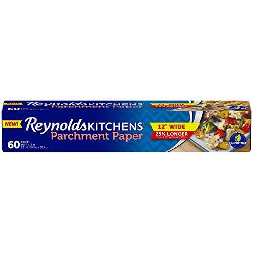 Reynolds Kitchens Parchment Paper Roll, 60 Square Feet - PHUNUZ