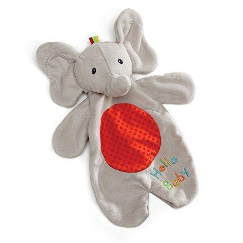 "Baby GUND Flappy the Elephant Lovey Plush Stuffed Blanket & Puppet, 11.5"" - PHUNUZ"