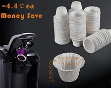 Load image into Gallery viewer, Disposable Coffee Filters 360 Counts Coffee Filter Paper for Keurig Brewers Single Serve 1.0 and 2.0 Use with All Brands K Cup Filter (1)