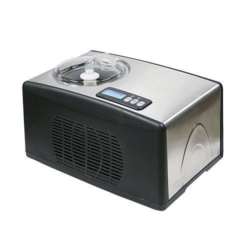 Whynter ICM-15LS Automatic Ice Cream Maker 1.6 Quart Capacity Stainless Steel, with Built-in Compressor, no pre-Freezing, LCD Digital Display, Timer, One Size, Multi - PHUNUZ