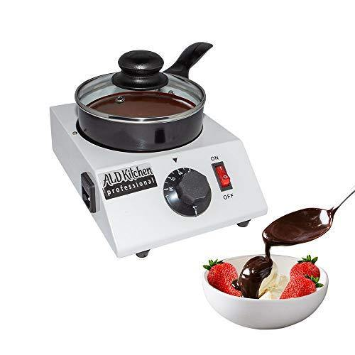 ALDKitchen Chocolate Melting Pot | Professional Chocolate Tempering Machine with Manual Control | Heated Chocolate | 110V | (Single (1.2 kg) - PHUNUZ
