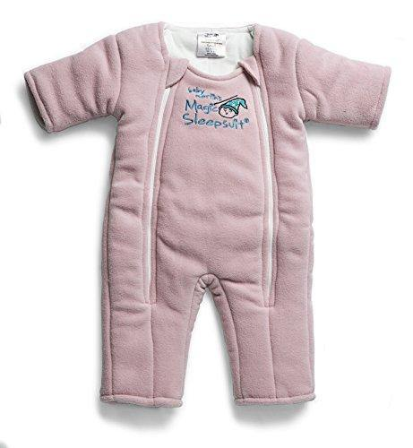 Baby Merlin's Magic Sleepsuit - Swaddle Transition Product - Microfleece - Pink - 3-6 Months - PHUNUZ