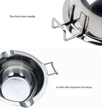 Load image into Gallery viewer, Neeshow Stainless Steel Baking Tools, Double Boiler Universal Insert (18/8 Steel)