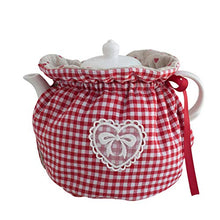 Load image into Gallery viewer, KABAKE Tea Cozy, 100% Cotton Vintage Floral Teapot Dust Cover Tea Cozies, Kitchen Home Decorative Tea Cosy with Insulation Pad for Housewife, Friend, Mom