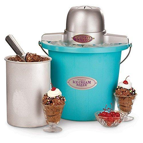Ice Cream Maker 4qt Blue - PHUNUZ