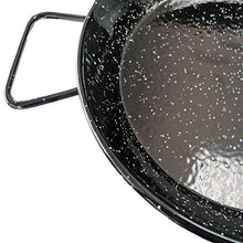 Load image into Gallery viewer, Garcima 14-Inch Enameled Steel Paella Pan, 36cm