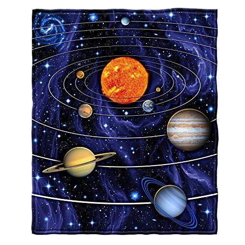 Dawhud Direct Super Soft Full/Queen Size Fleece Blanket, 75