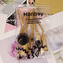 Load image into Gallery viewer, Honbay 6PCS Wooden Long Handle Tea Scoops for Tea Coffee Spices