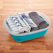 Load image into Gallery viewer, PrepWorks Large Collapsible Tub, Turquoise