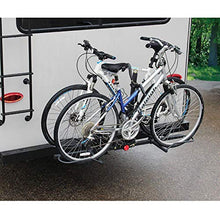 Load image into Gallery viewer, Stromberg Carlson BC-202BA Platform-Style 2-Bike Rack with Bumper Hitch Adapter