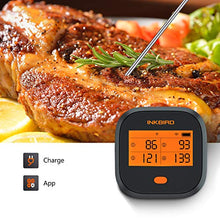 Load image into Gallery viewer, Inkbird WiFi Meat Grill Thermometer, Wireless BBQ Thermometer with Calibration, 4 Colored Probes, LCD Screen, Remote Digital Cooking Food Grill Thermometer