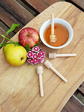 Load image into Gallery viewer, 3 Pack Honey Dipper-3 Inch Honey Spoons Honey Wand Honey Stirrers Honeycomb Wand Charcuterie Cheese Boards Honey Dipper Stick Honeycomb Spoon Honeycomb Stick