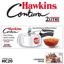 Load image into Gallery viewer, Hawkins HC20 Contura 2-Liter Pressure Cooker, Small, Aluminum