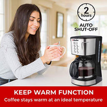 Load image into Gallery viewer, Mueller Ultra Coffee Maker, Programmable 12-Cup Machine, Multiple Brew Strength, Keep Warm