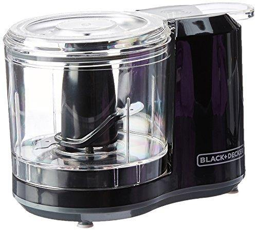 BLACK+DECKER 1.5-Cup Electric Food Chopper, Improved Assembly, Black, HC150B - PHUNUZ