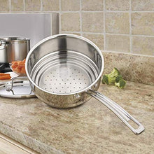 Load image into Gallery viewer, Cuisinart MultiClad Pro Stainless Universal Steamer with Cover