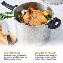 Load image into Gallery viewer, Zavor DUO 10 Quart Pressure Cooker with America's Test Kitchen Pressure Cooker Perfection Cookbook