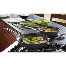 Load image into Gallery viewer, Calphalon 2 Piece Contemporary Frying Pan set, Nonstick, Black