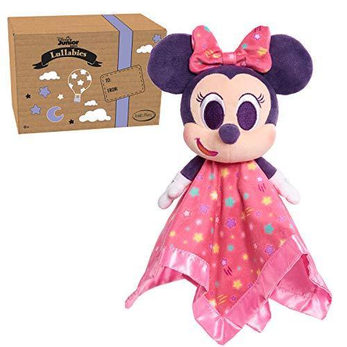 Disney Junior Music Lullabies Lovey Blankies, Minnie Mouse, Amazon Exclusive - PHUNUZ