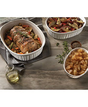 Load image into Gallery viewer, Corningware French White 10 Piece Oval Set