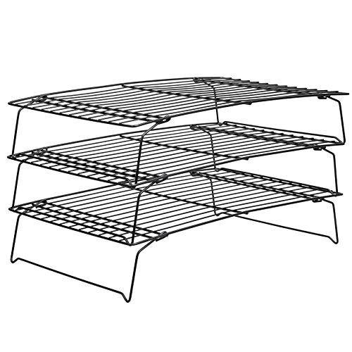 Wilton Perfect Results Cooling Rack, 3 Tier, Non-Stick - PHUNUZ