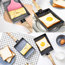 Load image into Gallery viewer, Tamagoyaki Japanese Omelette Pan/Egg Pan - Non-stick Coating - Rectangle Frying Pan Mini Frying Pan – Grey
