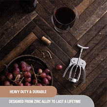 Load image into Gallery viewer, Bellemain Premium Wing Corkscrew Wine Opener Heavy-duty nonstick