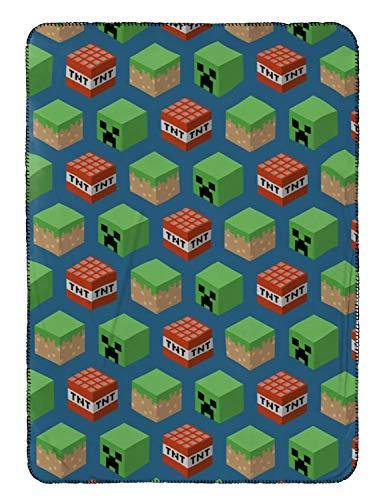 Jay Franco Kids Travel Blanket Minecraft - PHUNUZ