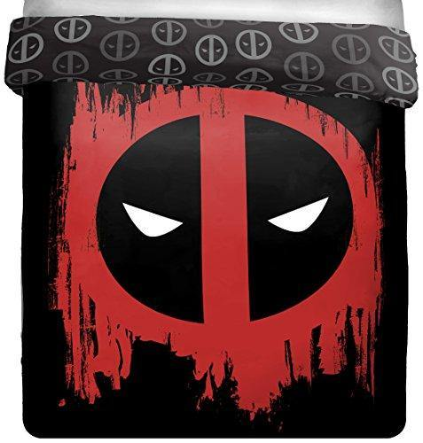 Jay Franco Deadpool Invasion Full/Queen Reversible Comforter (Offical Marvel Product) - PHUNUZ